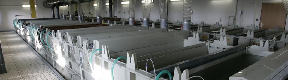 Zařízení pro technologie povrchových úprav