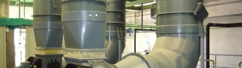 Vzduchotechnika z plastů