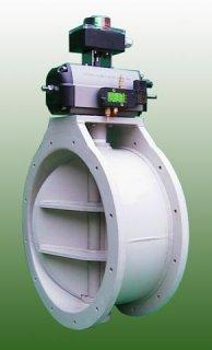Plastová regulační klapka vzduchotechnická