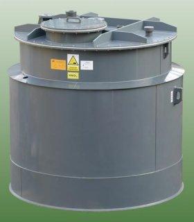 Plastový zásobník kyseliny HNO3