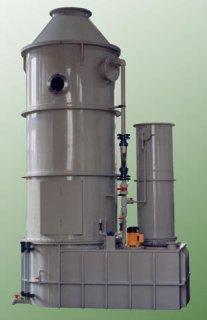 Plastový absorbér náplňový NA 21/3, pračka plynu