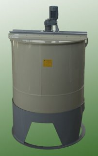 Plastic reaction tank