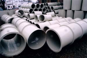 Plastové vzduchotechnické trubky kruhové