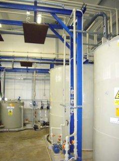 Plastové technologické potrubní propojení