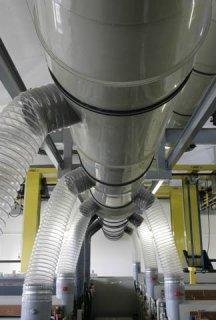 Plastové vzduchotechnické potrubí kruhové