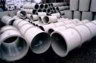 Plastic circular tubes for air piping