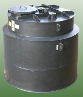 Plastic reservoir for soda lye NaOH